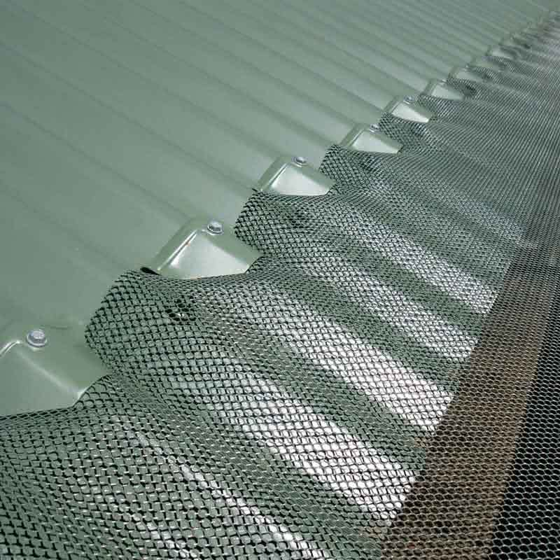 Aluminium Gutter Mesh Protect Your Home Tapex